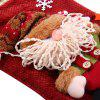 Hanging Stockings Santa Claus Pattern for Christmas - COLORES MEZCLADOS
