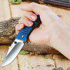 Sanrenmu 7063 LUC-LI Liner Lock Folding Knife BLUE