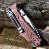 Sanrenmu 7063 LUC-LY Liner Lock Folding Knife BROWN