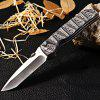 Enlan L01-1 Liner Lock Folding Knife - WHITE