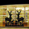 M-48 Sika Deer Style Style Wall Stickers - BLACK