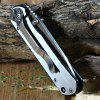 Enlan F710B Frame Lock Folding Knife - SILVER