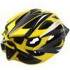 CTSmart Super-light Bicycle Helmet - YELLOW AND BLACK