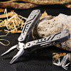 Ganzo 3028 Folding Pliers with 10pcs Screwdriver Bits - GRAY