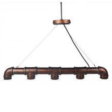 E27 Industrial Retro Water Pipe Pendant Lamp Holder
