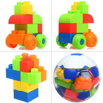 LELE BROTHER 24Pcs DIY Building Block IQ Training