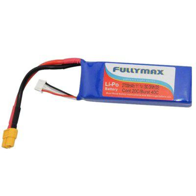 Extra Spare FULLYMAX 11.1V 2700mAh Battery for DJI Phantom Cheerson CX - 20 RC Quadcopter
