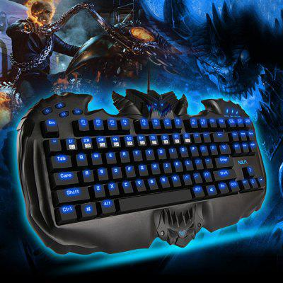 AULA Destroyer Gaming Mechanical Keyboard Red Switches