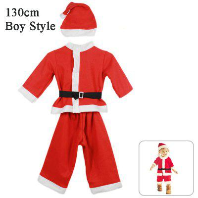Boy Style Santa Clothing Set
