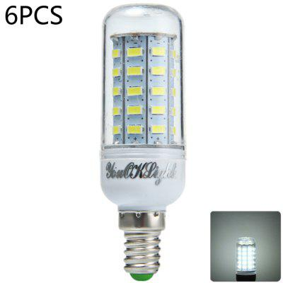 6 x YouOKLight E14 12W 1000LM SMD 5730 48 LED Corn Light