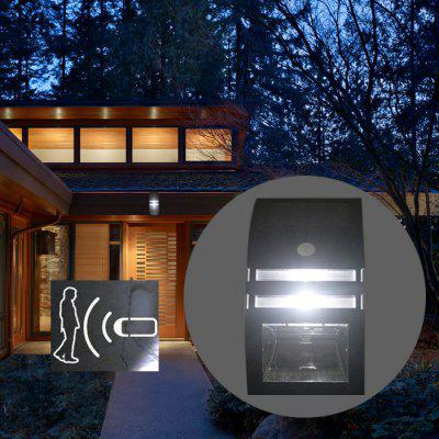 Zweihnder Solar PIR Path Light Waterproof Wall Lamp