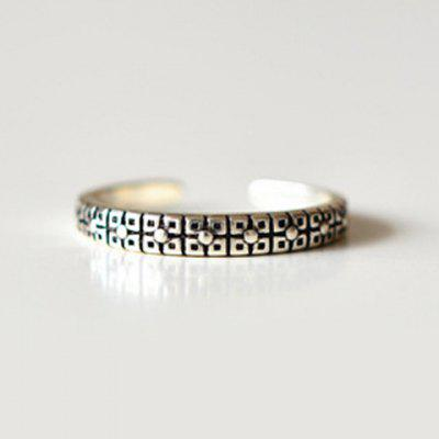 Punk Pure Color Cuff Ring For Women