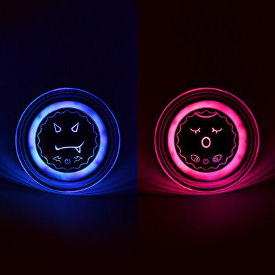3200mAh Rechargeable UFO Flashing LED Power Bank Hand Warmer