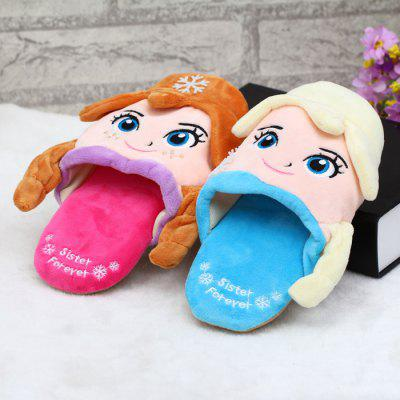 Lovely Girl Style Plush Slipper