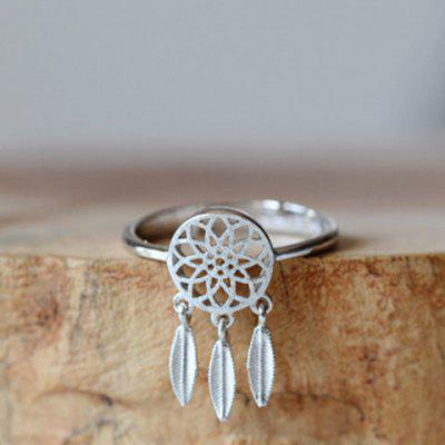 Dream Catcher Alloy Cuff Ring