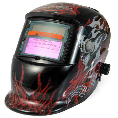 DYSZ-107 Solar Powered Auto Darkening Welding Helmet