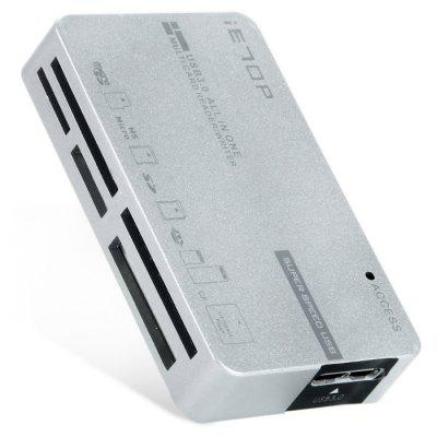 C3-08 7 Port USB 3.0 Card Reader / Writer