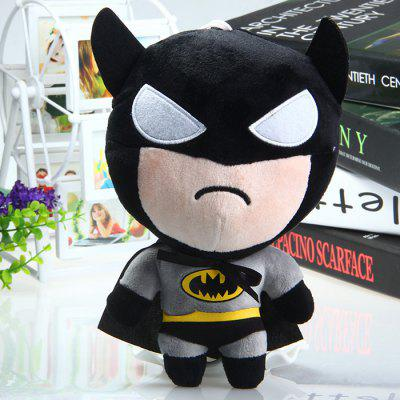 19cm Batman Cute Design Plush Doll Stuffed Toy with Suction Cup for Kids Christmas Gift