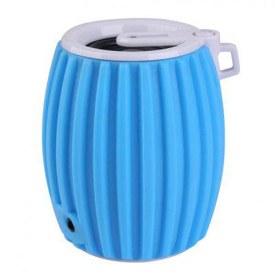 Beer Drum Style Stereo Wireless Bluetooth Speaker Bass Rock