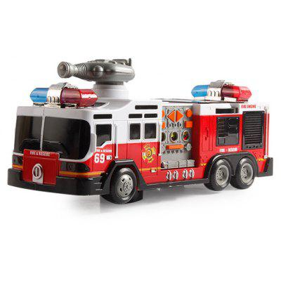 Electric Fire Rescue Toy Car with Music / Light / Radio Educational Toy