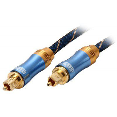 EITK LSYJ-A015 1.5m Digital Round Optical Fiber Male to Male Audio Cable