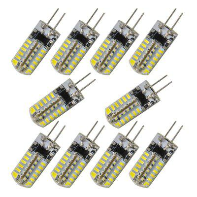 10PCS G4 3.5W 170Lm SMD 3014 LED Corn Bulb ( AC 220V )