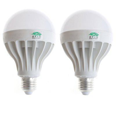 2 x Zweihnder E27 15W SMD 5630 1400Lm LED Light Bulb
