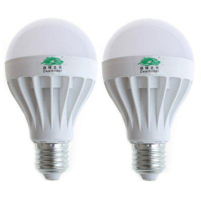 2 x Zweihnder E27 12W SMD 5730 1100Lm LED Light Bulb