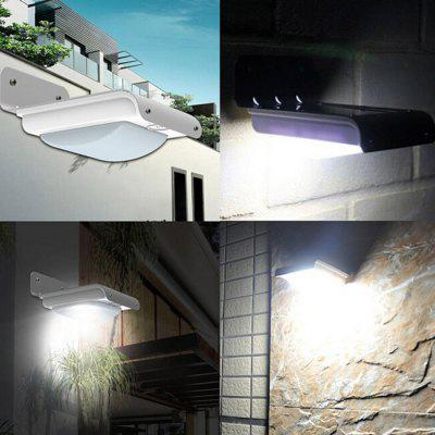 Zweihnder Waterproof Solar LED Wall Light with Sound Sensor