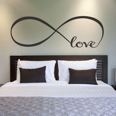Fashion Cycle of Love Removable Wall Stickers