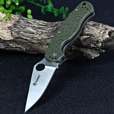 Buy GREEN Ganzo G730-GR Liner Lock Folding Pocket Knife for $17.00 in GearBest store