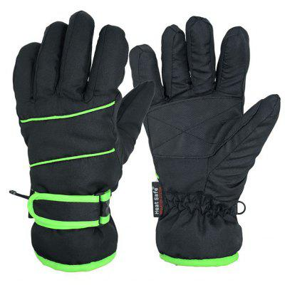Women Skiing Gloves with Fluorescence Stripes
