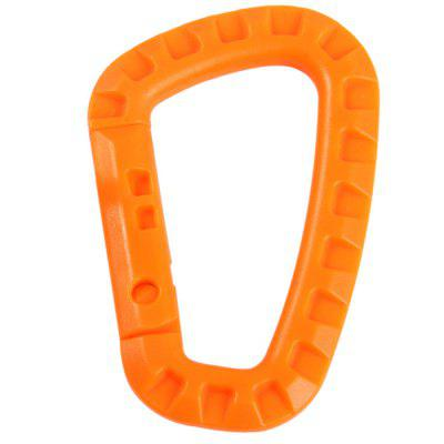 Y280 10pcs D-shaped Carabiner with 80kg Load BearingCarabiner<br>Y280 10pcs D-shaped Carabiner with 80kg Load Bearing<br><br>Best Use: Hiking,Mountaineering,Backpacking<br>Color: Black,Orange,Khaki,Army green<br>Package Contents: 10 x D-shaped Carabiner<br>Package Dimension: 14.0 x 14.0 x 3.8 cm / 5.50 x 5.50 x 1.49 inches<br>Package weight: 0.200 kg<br>Product Dimension: 5.6 x 8.5 x 1.0 cm / 2.20 x 3.34 x 0.39 inches<br>Product weight: 0.160 kg<br>Tensile Load: 20kg