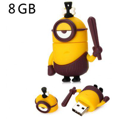 8GB Simple Eye Bee-do Style USB 2.0 Stick