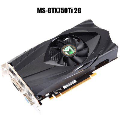 MAXSUN MS-GTX750Ti 2G GDDR5 Graphics Card