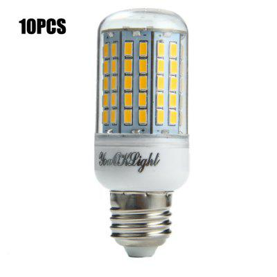 10PCS YouOKLight E27 SMD 5730 2000Lm 18W LED Corn Light Bulb