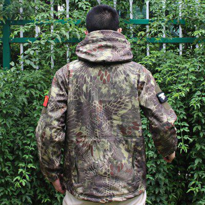 Men Hard Shell TAD Tactical Waterproof Jacket