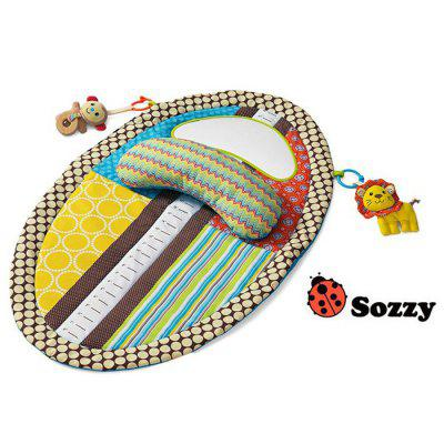 Infant Tummy Time Musical Mat Water Resistant Blanket