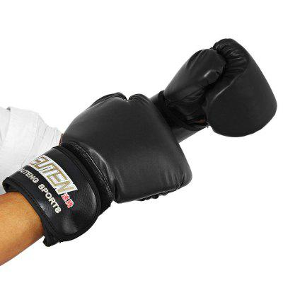 SUTEN 1 Pair PU Boxing Fighting Sandbag Gloves