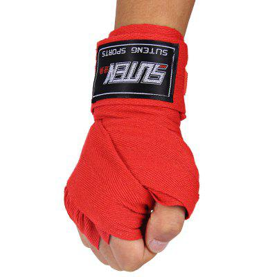 SUTEN 1 Pair Cotton Boxing Handwrap Punching Fighting Bandage