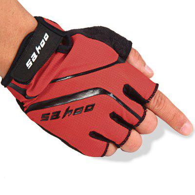 SAHOO GEL Pad Hydrofuge Bicycle Half Finger Cycling Gloves