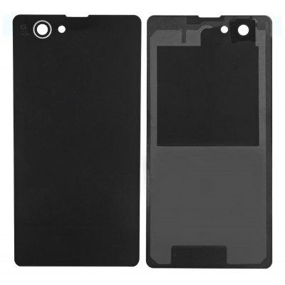 Buy BLACK Battery Back Cover for Sony Xperia Z1 Mini for $3.09 in GearBest store