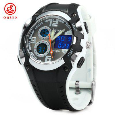 OHSEN AD1309 Men Sports Digital Watch