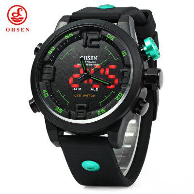 OHSEN AD2820 Men Sports Quartz Watch