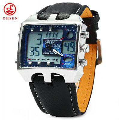 OHSEN AD0930 Male LED Sports Digital Watch