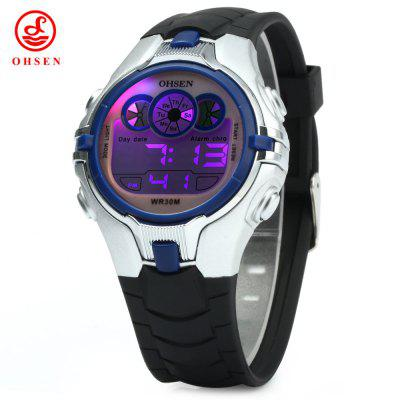 OHSEN AD0739 Kids Sports Digital Watch
