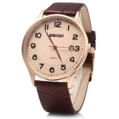 WeiQin W23053B Ultrathin Analog Quartz Watch for Men
