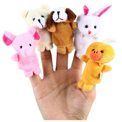 10 Pcs Animal Educational Finger Puppets Toys