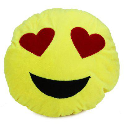 33cm Emoji Smiley Emotion Round Plush Cushion Pillow Funny Emotion Doll