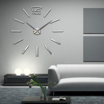 mq 001 acrylic mirror sticker quartz diy wall clock home decoration online shopping. Black Bedroom Furniture Sets. Home Design Ideas